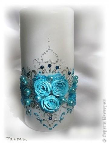 Вот такой набор свечей получился в порыве вдохновения))) фото 3