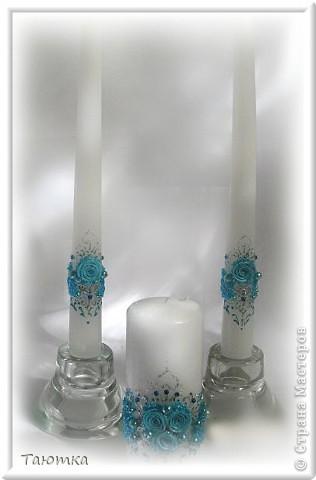 Вот такой набор свечей получился в порыве вдохновения))) фото 1