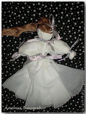 Смастерила куколку без иголки. Использовала МК : http://stranamasterov.ru/node/381983 фото 4