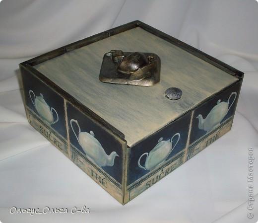Моя очередная чайная коробка