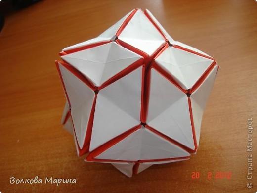 Наконец-то решила показать свои работы по оригами. Делала их давно. Люблю складывать из бумаги. Для меня это своеобразные головоломки. А всякого рода головоломки я очень люблю. За это время набралась вот такая коллекция. фото 19