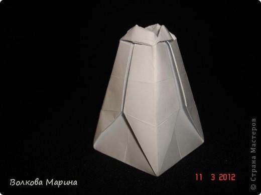 Наконец-то решила показать свои работы по оригами. Делала их давно. Люблю складывать из бумаги. Для меня это своеобразные головоломки. А всякого рода головоломки я очень люблю. За это время набралась вот такая коллекция. фото 8