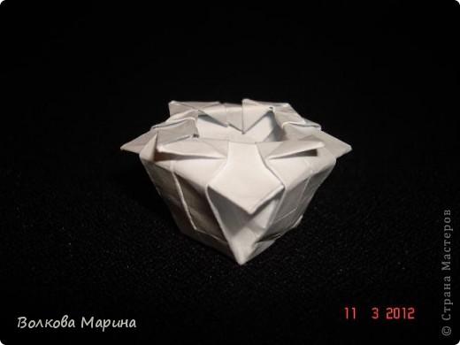 Наконец-то решила показать свои работы по оригами. Делала их давно. Люблю складывать из бумаги. Для меня это своеобразные головоломки. А всякого рода головоломки я очень люблю. За это время набралась вот такая коллекция. фото 10