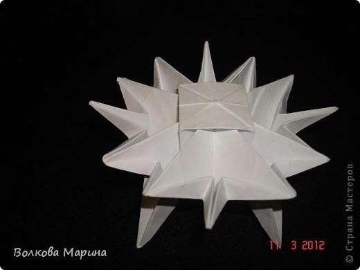 Наконец-то решила показать свои работы по оригами. Делала их давно. Люблю складывать из бумаги. Для меня это своеобразные головоломки. А всякого рода головоломки я очень люблю. За это время набралась вот такая коллекция. фото 12