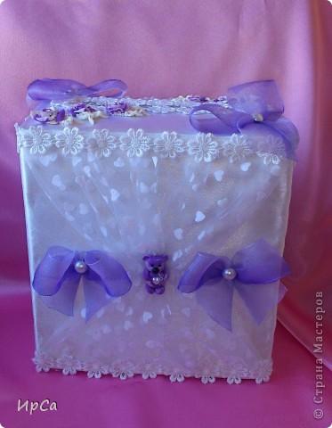 Свадебный набор сиреневый фото 2