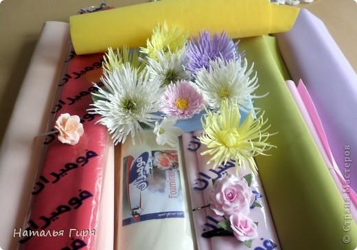 Фоамиран и цветы