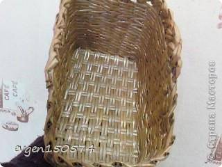 Доброго всем дня!Проба плетения из кассовой ленты,очень понравилась. фото 10
