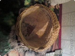 Доброго всем дня!Проба плетения из кассовой ленты,очень понравилась. фото 5