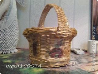 Доброго всем дня!Проба плетения из кассовой ленты,очень понравилась. фото 4