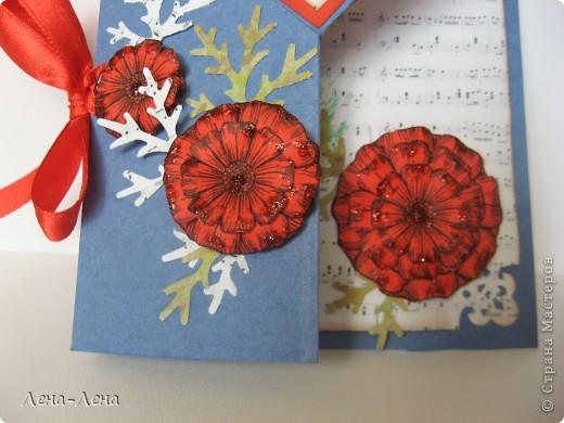 Сегодня я предлагаю вам сделать две открытки с сердечками. Фото будет много, чтоб хорошо рассмотреть её со всех сторон, так что наберитесь терпения.  фото 5