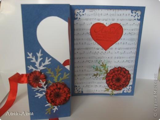 Сегодня я предлагаю вам сделать две открытки с сердечками. Фото будет много, чтоб хорошо рассмотреть её со всех сторон, так что наберитесь терпения.  фото 7
