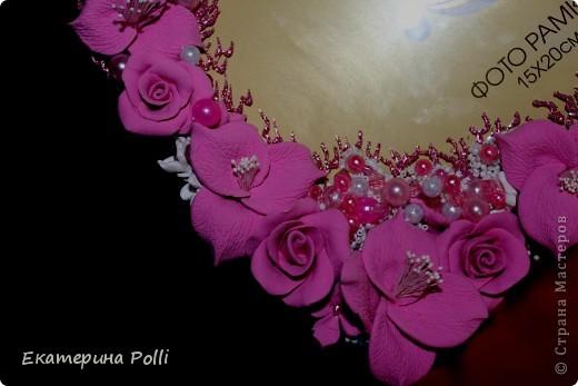 "Свадебная рамочка ""Аромат роз""  фото 4"