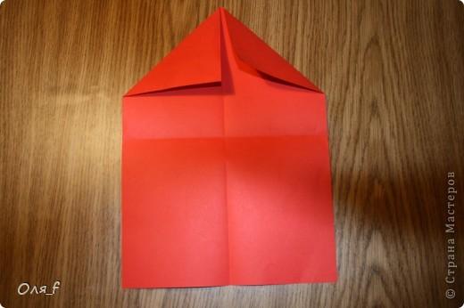 Согни прямоугольный лист пополам разогни  фото 3
