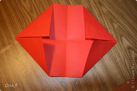 Согни прямоугольный лист пополам разогни  фото 4