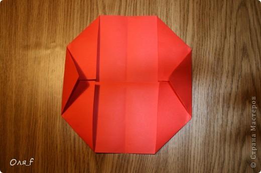 Согни прямоугольный лист пополам разогни  фото 5