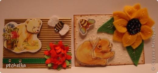 """Приветствую всех гостей своего блога! Сегодня выставляю очередную свою серию карточек АТС """"Мишки"""". Первыми, как всегда, идут кредиторы и приглашенные... фото 4"""