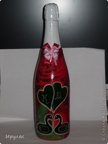 Бутылочка на свадьбу фото 1