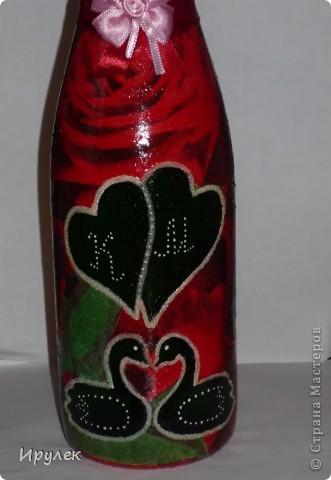Бутылочка на свадьбу фото 3