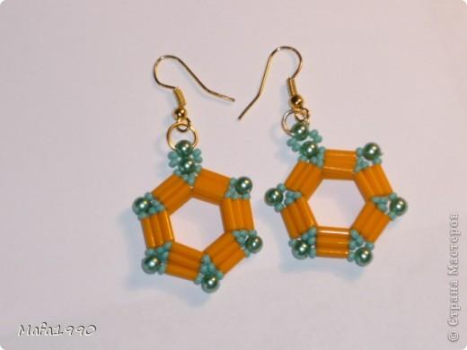 Зеленые серьги фото 39