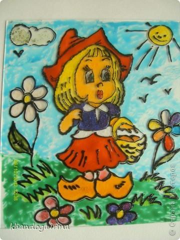 Рисовала моя внучка, 8 лет