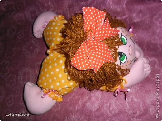 Добрый день или вечер!!! Нашла в интернете вот такую забавную куколку.Шьётся легко и быстро. Мне очень понравилась, может и вам пригодится. У меня получилась ростом см50.http://rucodelie.0bb.ru/viewtopic.php?id=264 фото 3
