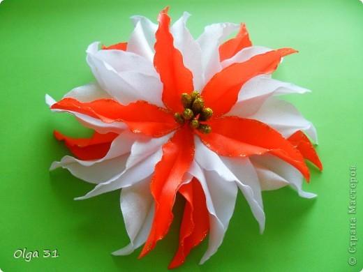 """Заколочки """"Маленькие лилии"""". Подарок для маленькой девочки. фото 2"""
