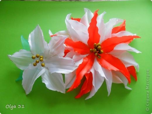 """Заколочки """"Маленькие лилии"""". Подарок для маленькой девочки. фото 3"""