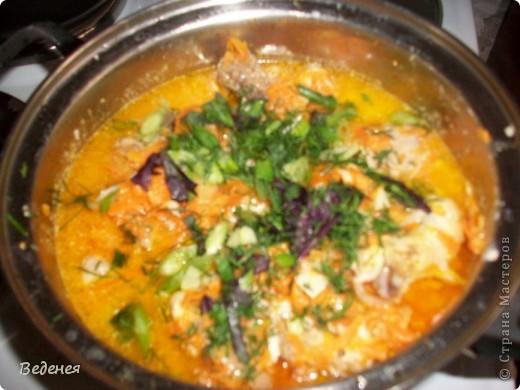 Рецепт приготовления этого блюда несколько лет назад рассказала одна из моих коллег. Очень вкусно! Он прижился в нашей семье, надеюсь и вам понравится. фото 11