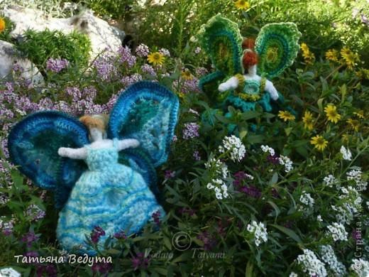 3 мои работы вместе -проект ландшафта , его исполнение- высадка растений  и ангелы  фото 4
