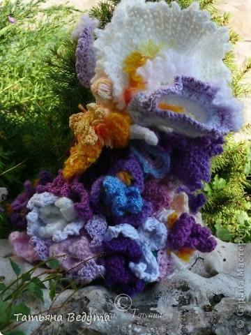 3 мои работы вместе -проект ландшафта , его исполнение- высадка растений  и ангелы  фото 22