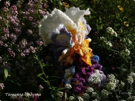 3 мои работы вместе -проект ландшафта , его исполнение- высадка растений  и ангелы  фото 21