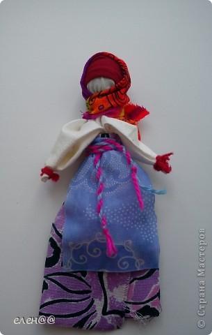 Эту куколку я сделала в лагере и подарила маме. фото 1