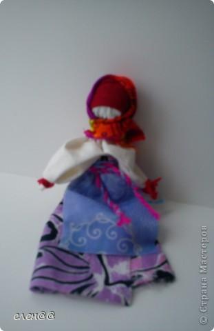 Эту куколку я сделала в лагере и подарила маме. фото 2