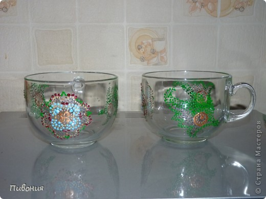 Купила на днях стеклянные бульоницы... фото 2