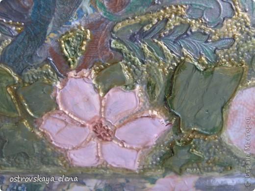 Имитация керамической плитки на деревянной поверхности. фото 13