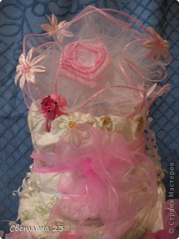 Год назад я делала свадебные бакалы для своей племянницы. И вот в этом году пришло время делать подарок и для её дочери, Евы!!! фото 2