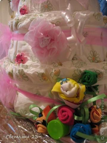 Год назад я делала свадебные бакалы для своей племянницы. И вот в этом году пришло время делать подарок и для её дочери, Евы!!! фото 3