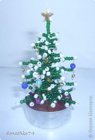 Вот такими мини-ёлочками я завалила всех знакомых перед Новым годом)))) фото 1