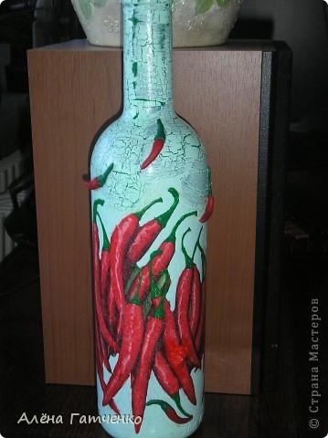 Вот получилась такая бутылочка.  фото 2