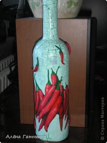 Вот получилась такая бутылочка.  фото 3