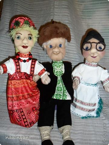Куклы для театра. фото 1