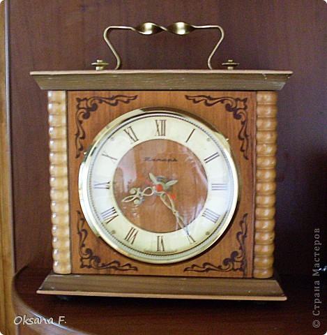 Вот такие часы переделались в новенькие.  фото 2