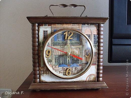 Вот такие часы переделались в новенькие.  фото 1