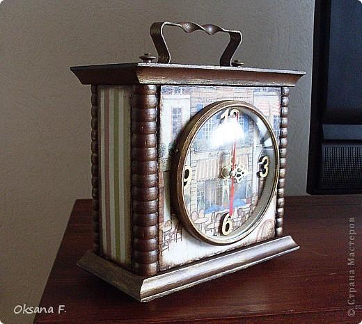 Вот такие часы переделались в новенькие.  фото 3