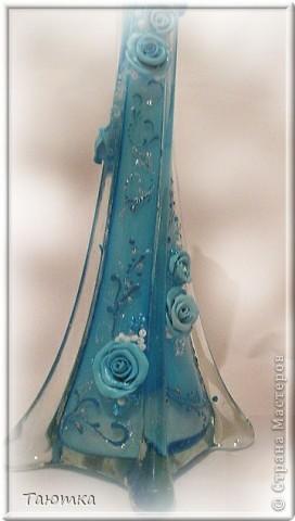 Ещё одна вазочка необычной формы. Покрутила со всех сторон! фото 4