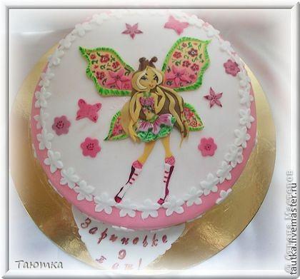 Тортик для большой поклонницы Флоры)))