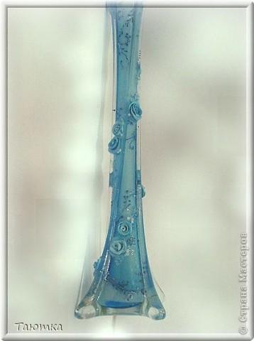 Ещё одна вазочка необычной формы. Покрутила со всех сторон! фото 5