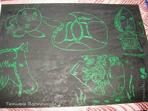 Продолжение  - детские поделки , чем мы занимались в лагере фото 9