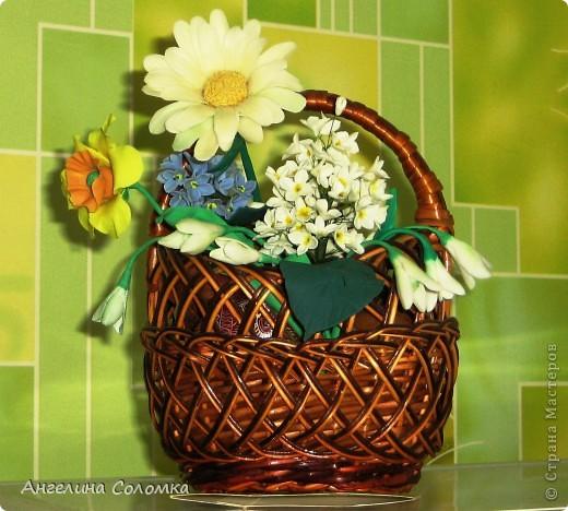 Крзиночка с цветами фото 2
