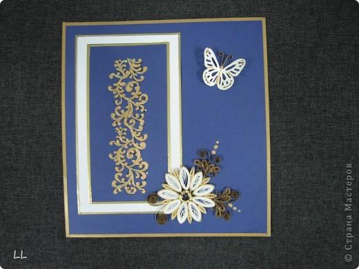 золото на синем фото 1